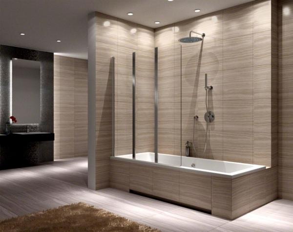 AGAT-3 kádparaván 120x140 cm - Kádparaván - Zuhany - Fürdőszoba webáruház-Frdőszoba Bútor ...