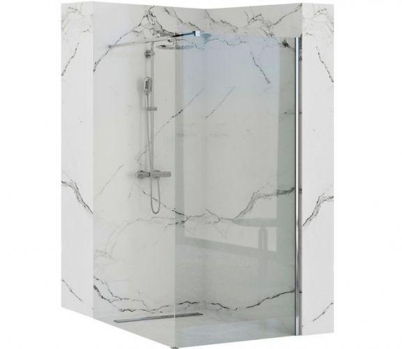 AERO zuhanyfal 100 cm - Zuhanykabin - Zuhany - Fürdőszoba ...